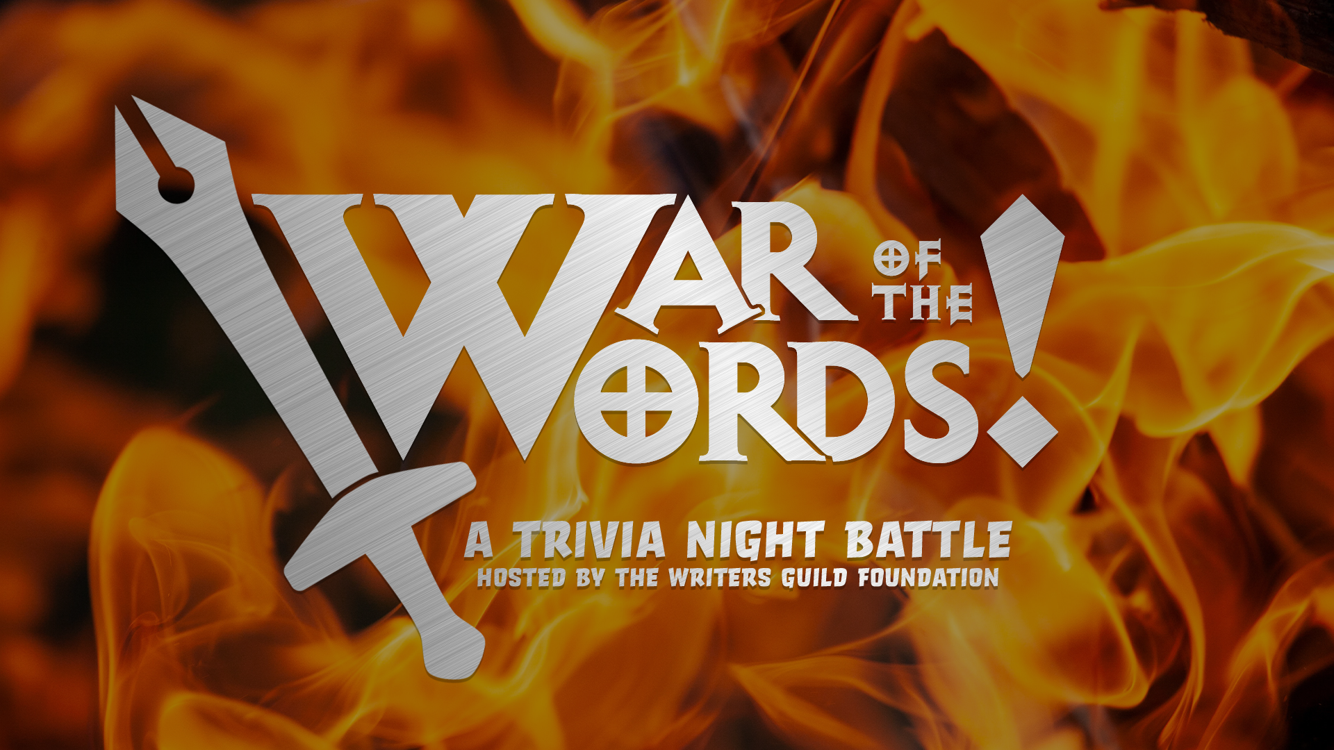 War of the Words promo image.