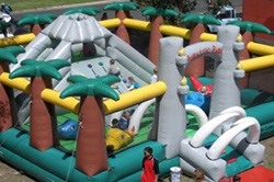 Jurassic Park Inflatable