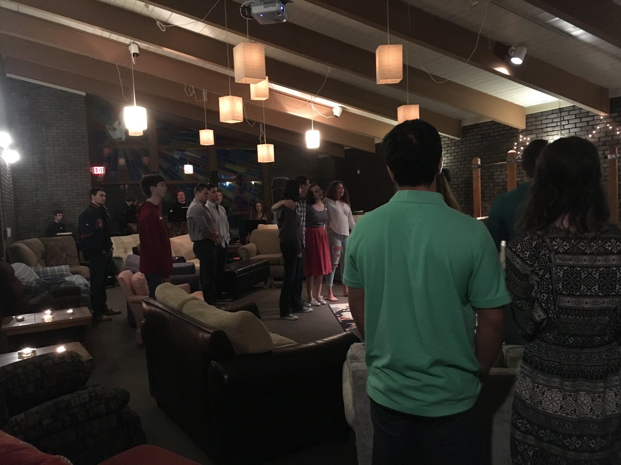 Dinner & Worship