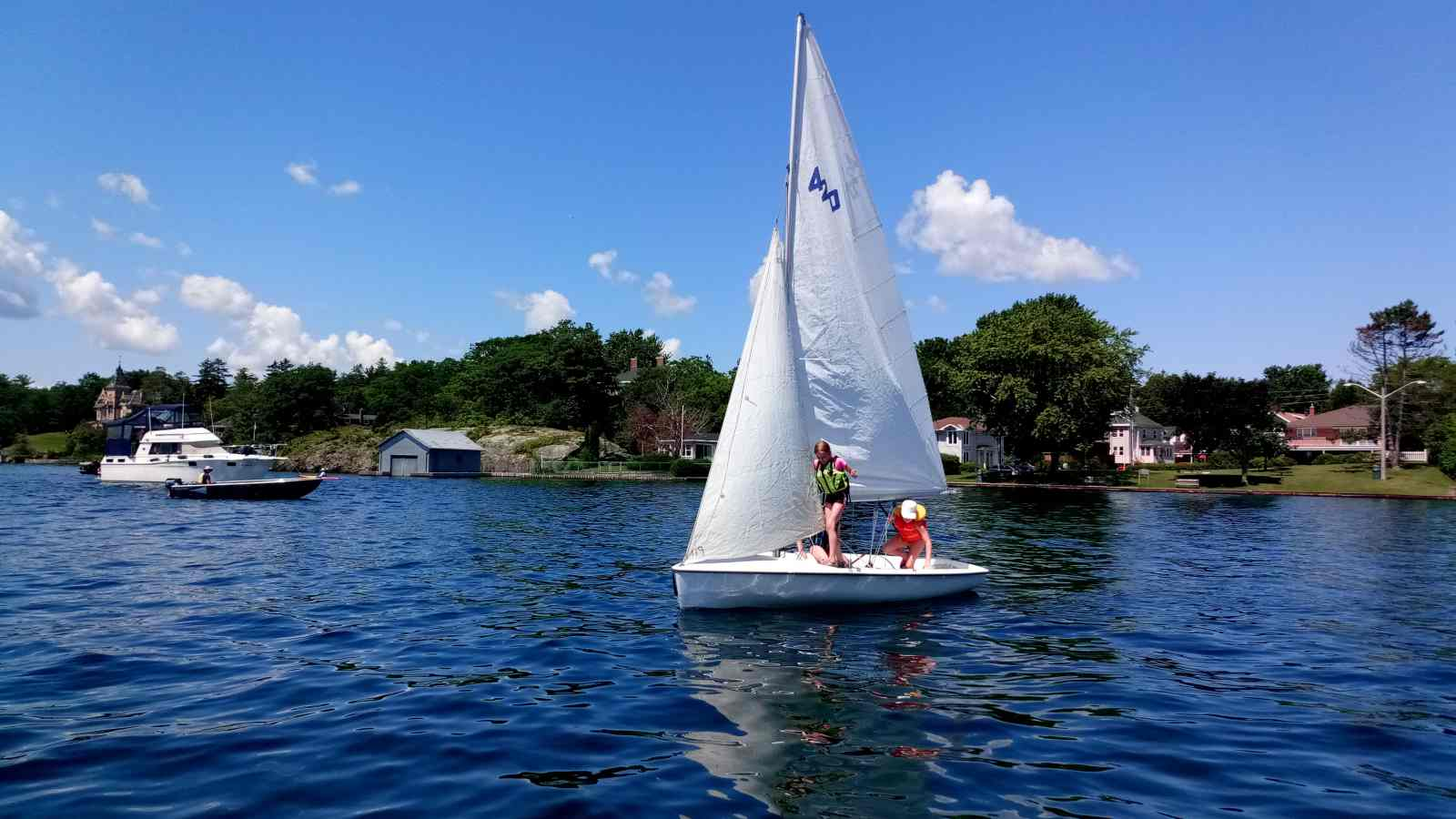 Brockville Yacht Club Sailing school BYC CanSail Kids sailing.jpg