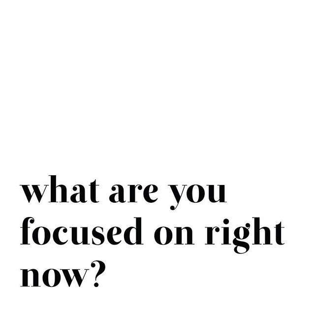 "At a leadership conference a few weeks ago, a speaker suggested flipping the script on the question ""How are you?"". ⠀ ⠀ How often do we find ourselves robotically asking ""How are you?"" with no real intention behind learning the answer. How much more powerful to ask ""How have you been productive lately?"" or ""What are you focused on right now?"" giving you the foundation for a meaningful interaction. ⠀ ⠀ So let's practice what we are preaching: What are YOU focused on right now? Let's start the conversation below!"