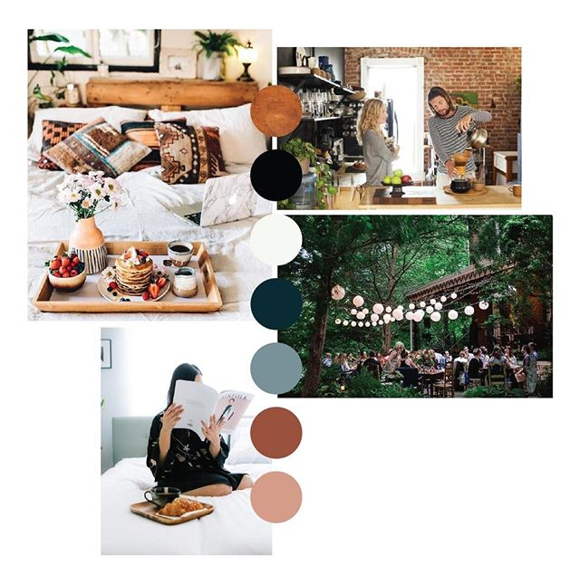 This moodboard has us wanting to staycation ASAP! If you're looking for your next retreat venue, event space, or getaway @lariatsprings has you covered. Follow along on their account for construction updates and fun announcements as they gear up to launch this fall!
