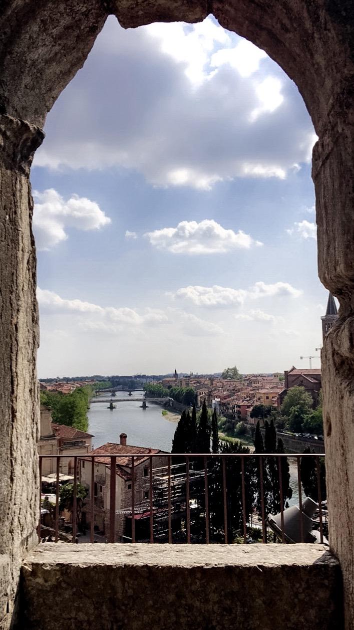 Piazzale Castel San Pietro (Verona, Italy)
