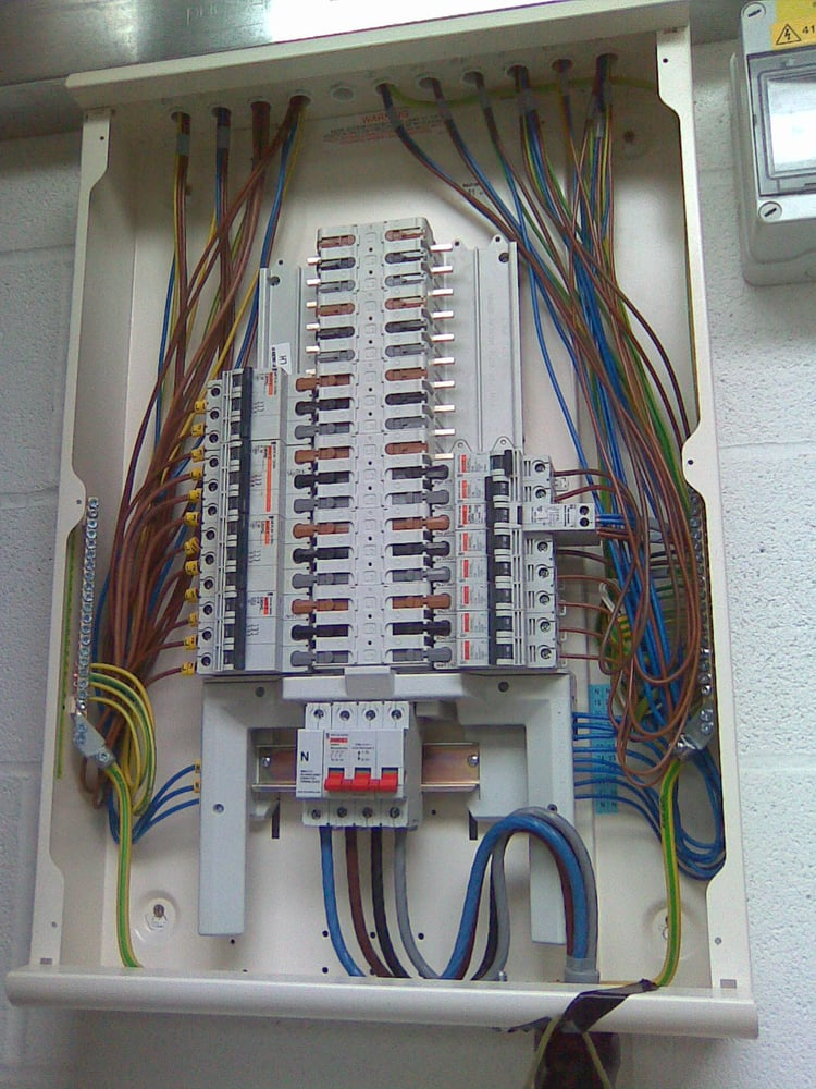 Matt Walters Electrical example of work local electrician based in Eastwood Nottingham