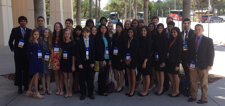 The 2014 Ying Delegation to the Florida State Science and Engineering Fair