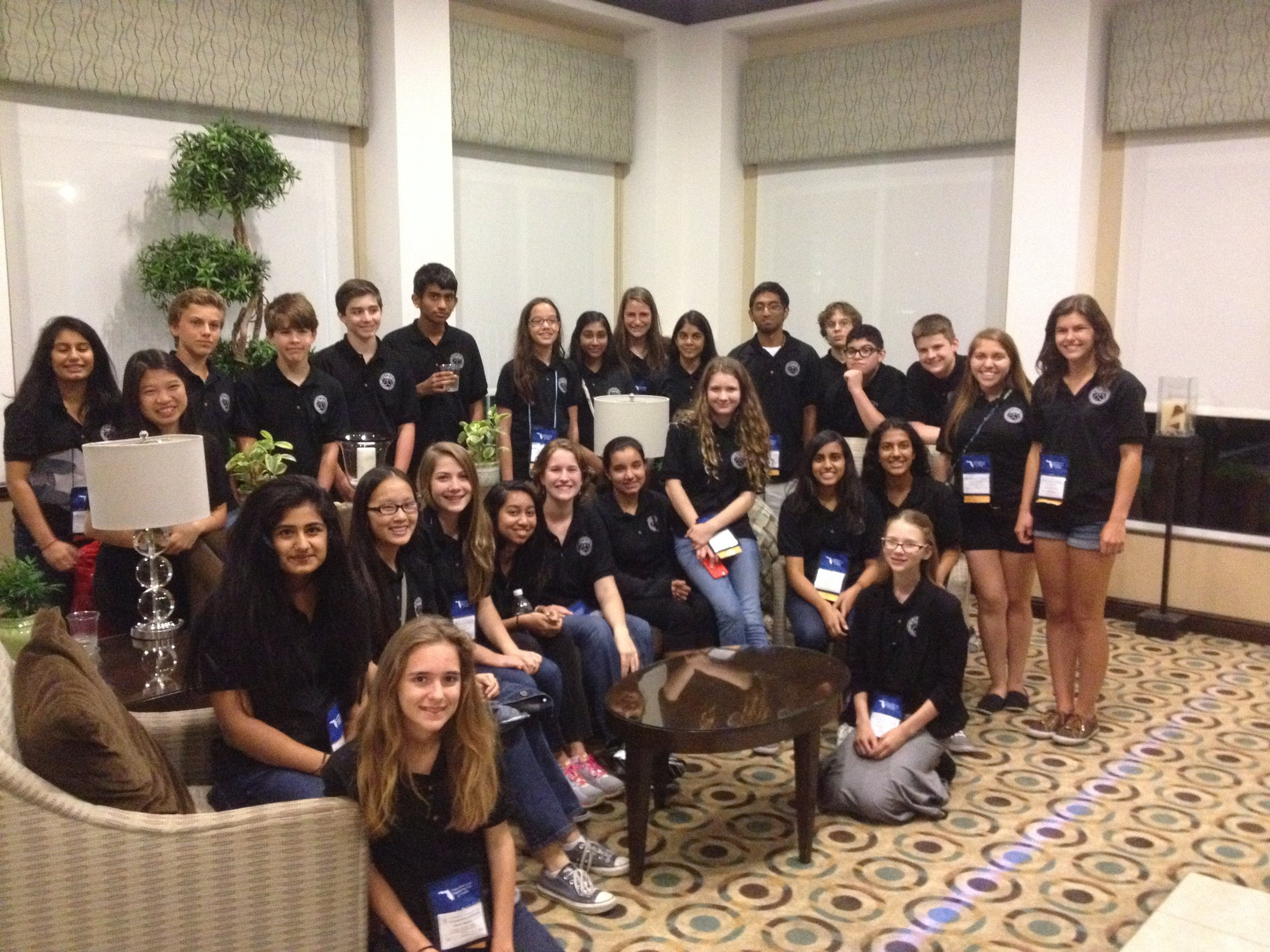 The 2015 Ying Delegation to the Florida Science and Engineering Fair