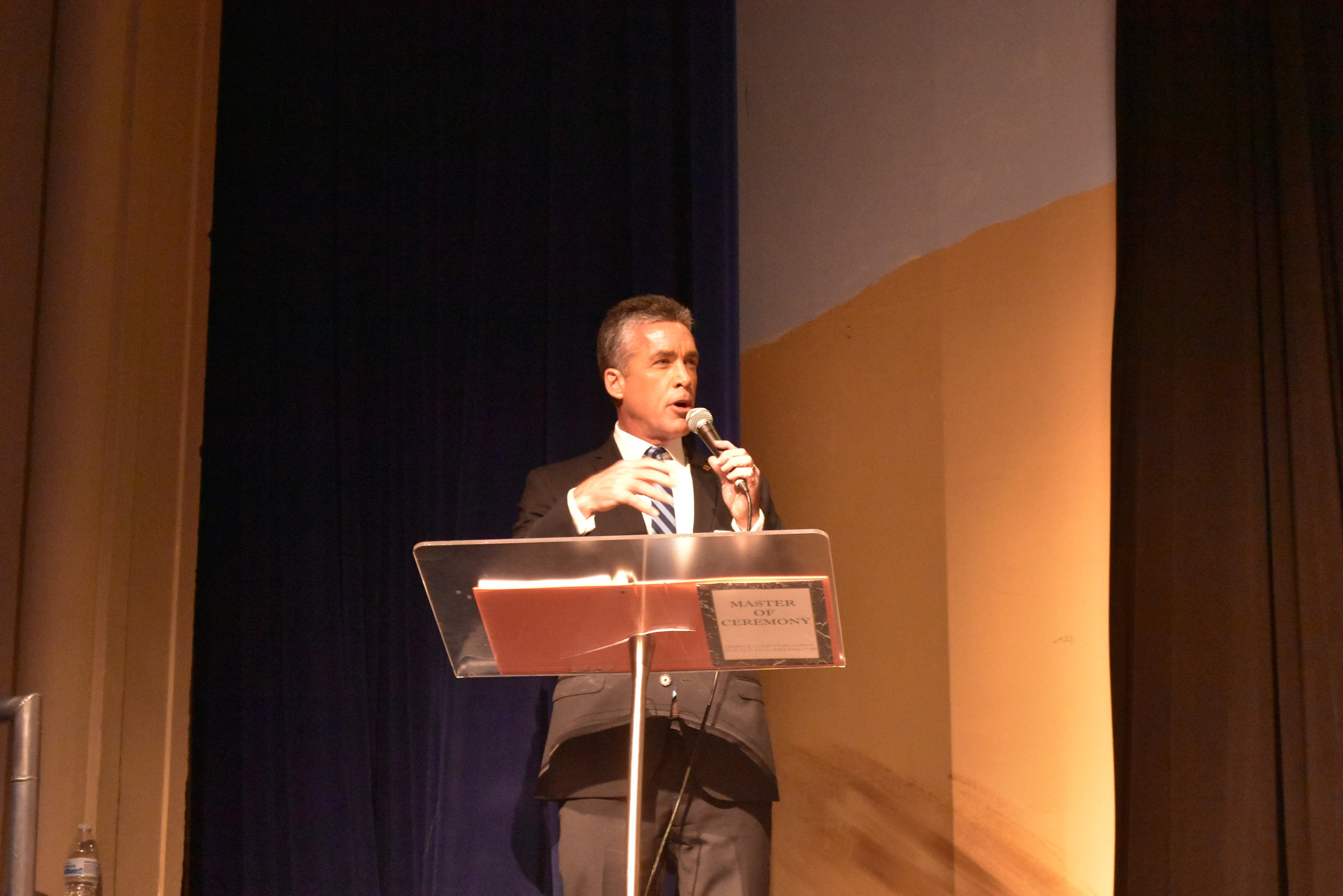 WESH TV's Jim Payne has been the Master of Ceremonies at the Ying Expo Awards for the past 15 years.