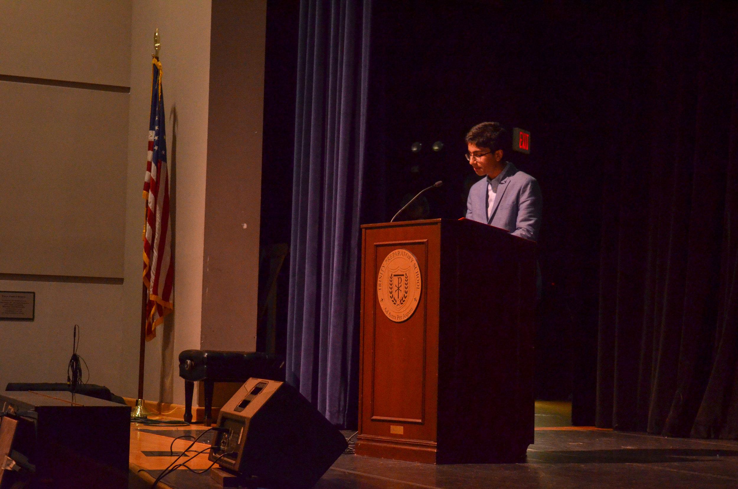 Lake Highland Preparatory School's, Varun Madan was a 2018 Broadcom MASTERS finalist.
