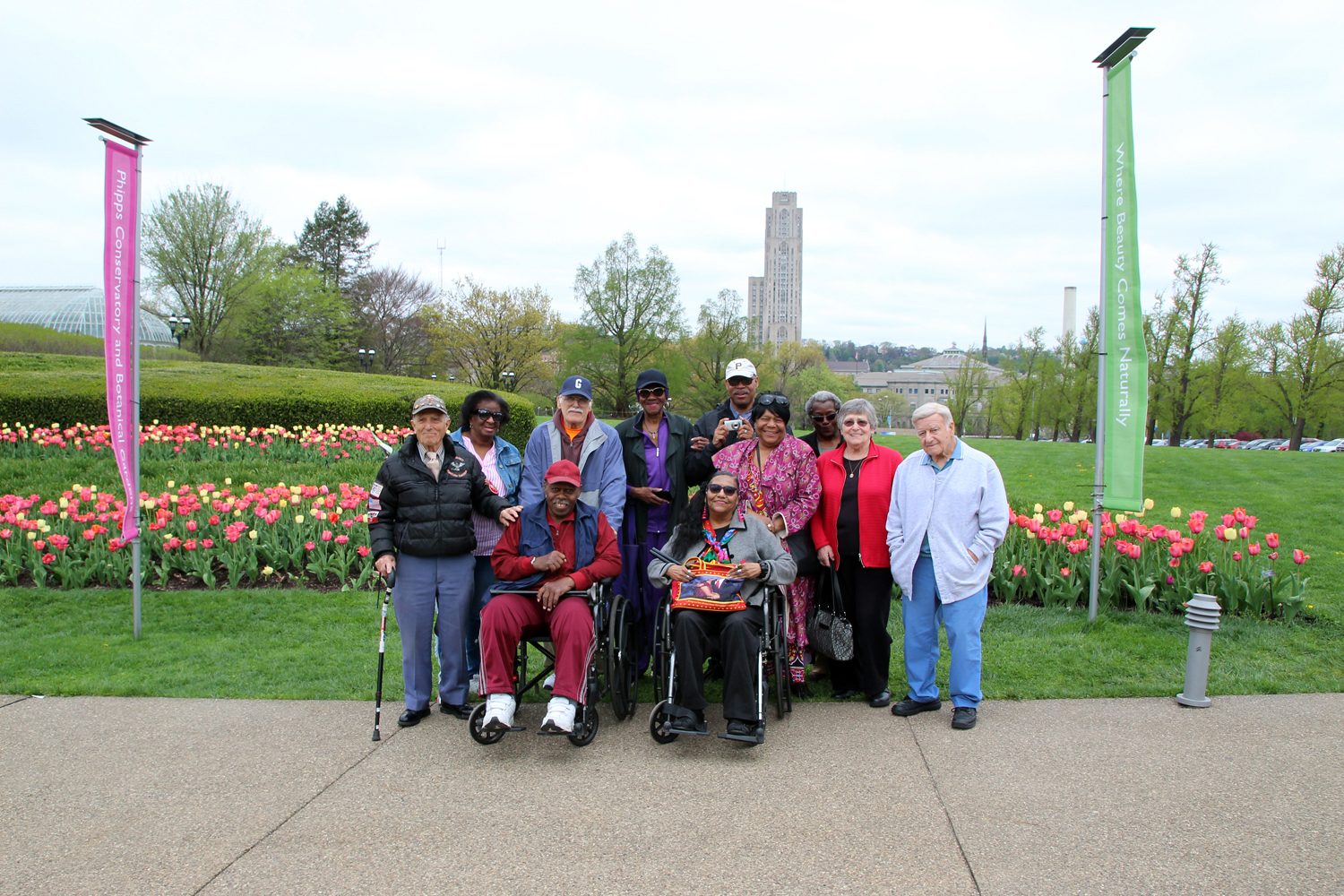 Group Picture of The Larimer Senior Group at Phipps.