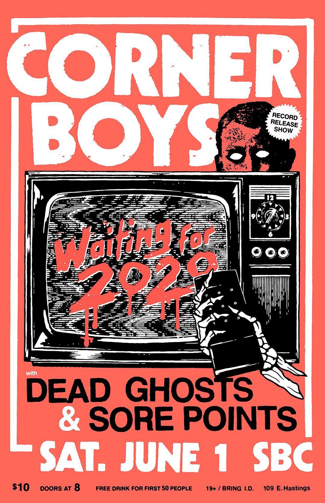 Corner Boys Poster