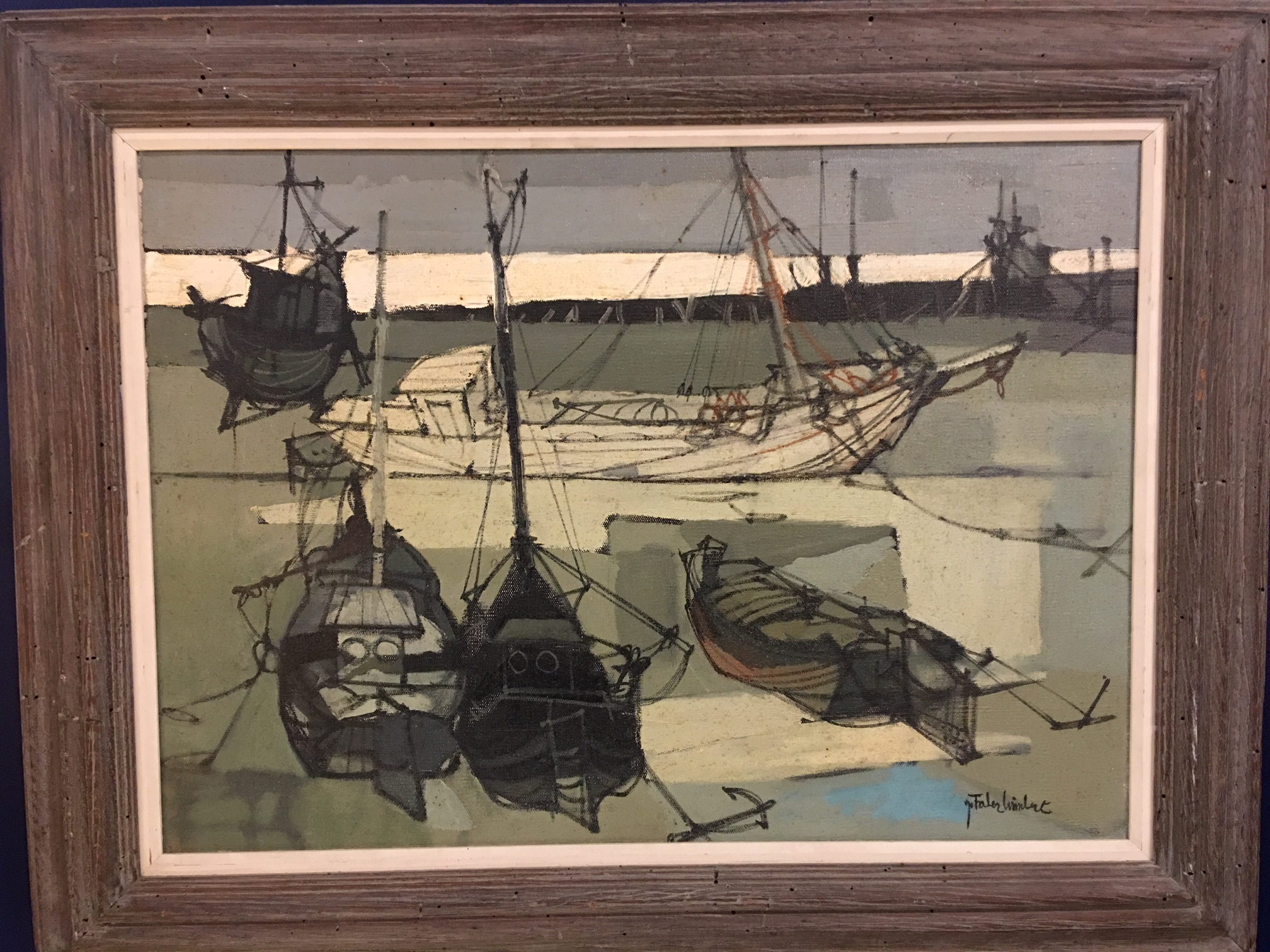 """Snowtide"" - Jean Faber Limbert Oil On Canvass.   $450"