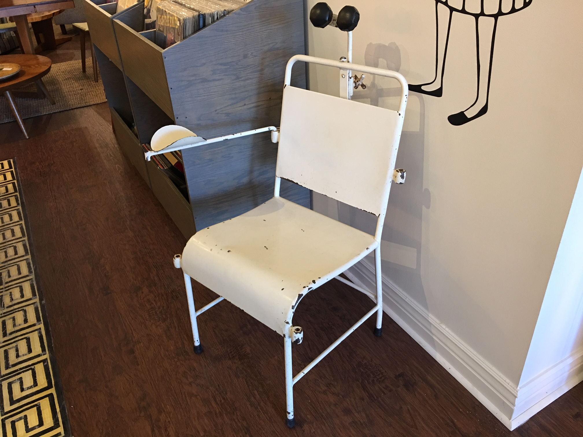 Antique Medical Blood Draw Chair.   $275