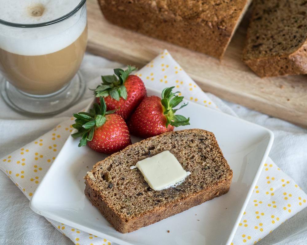 Moist and delicious zucchini bread