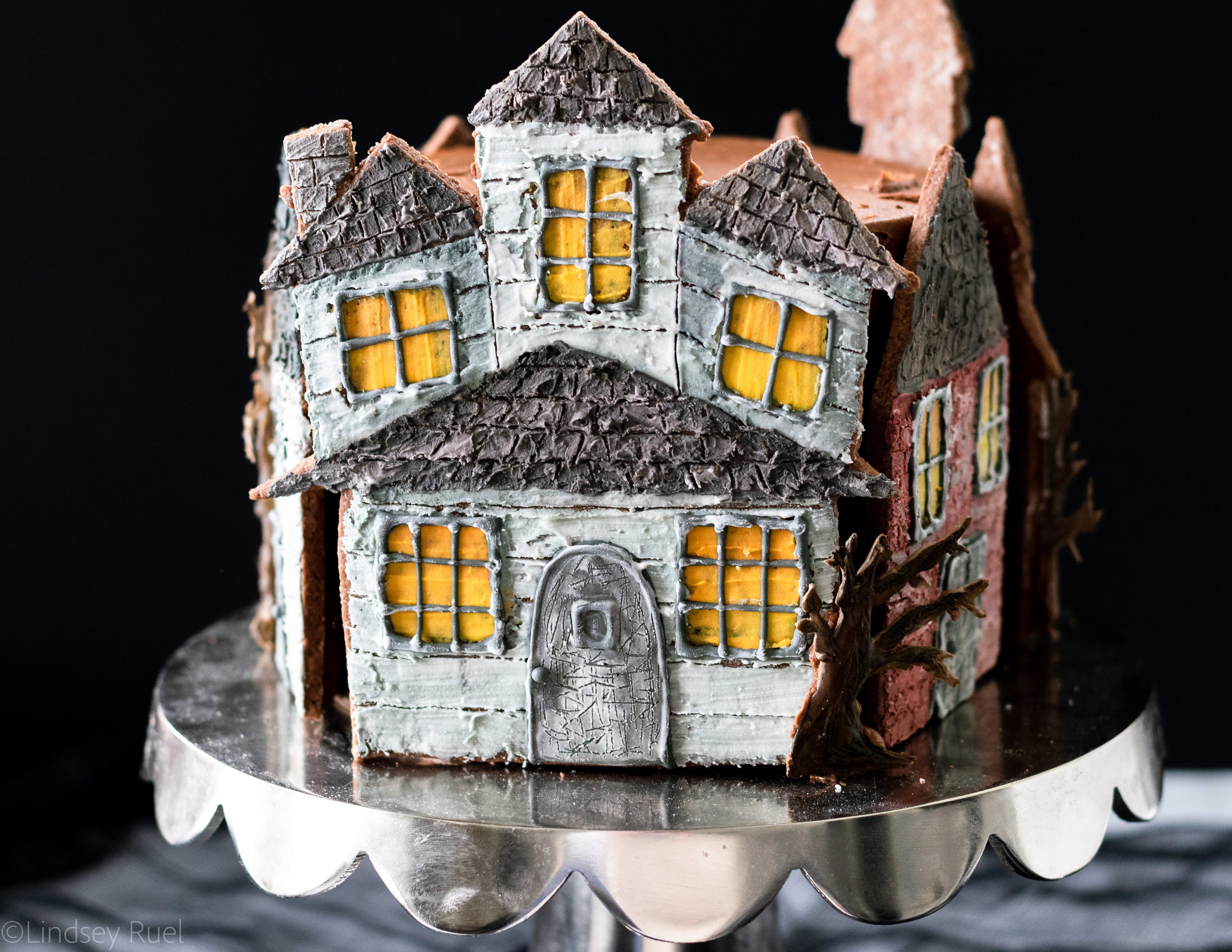 Haunted House Cookie Cake-9.jpg
