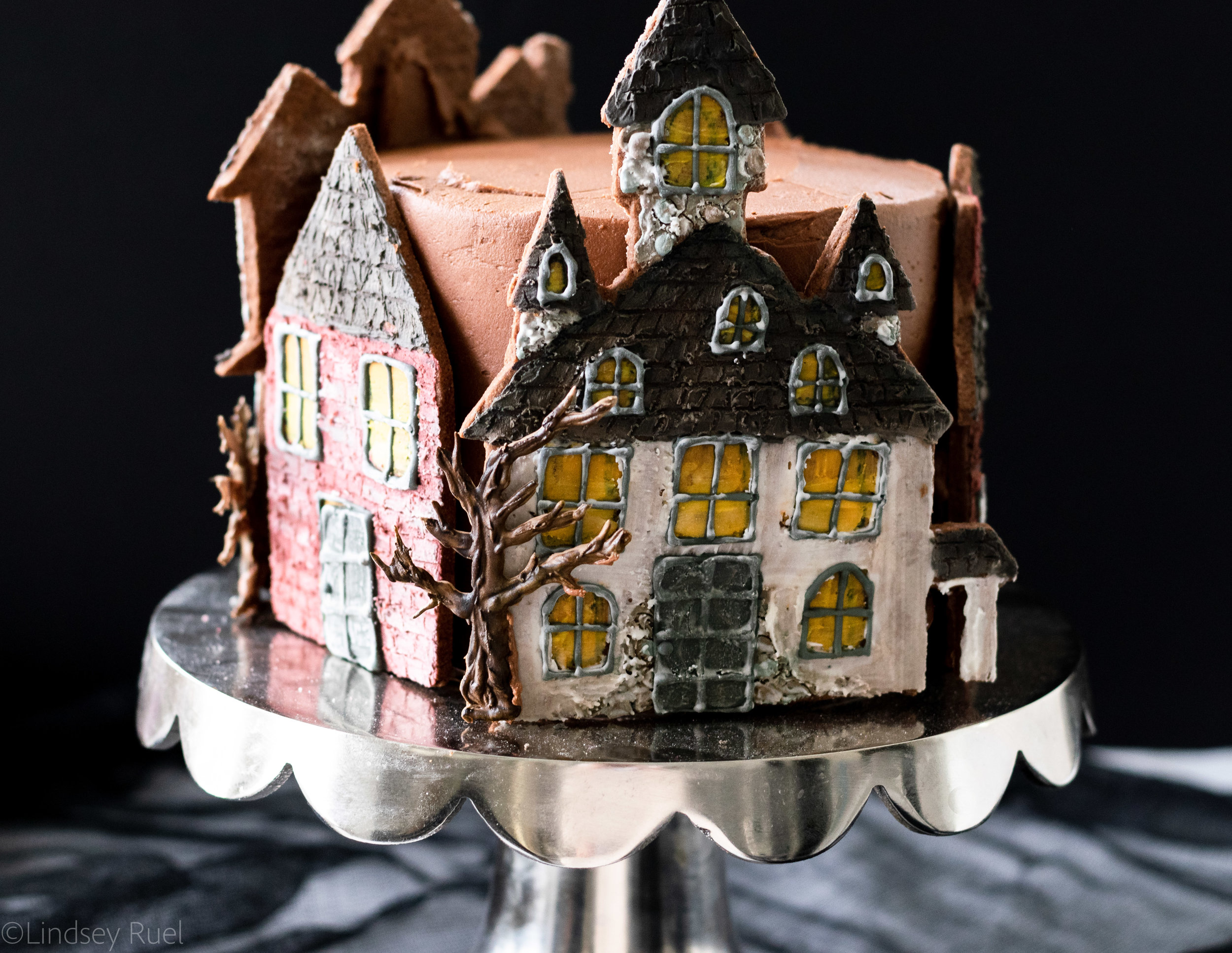 Haunted House Cookie Cake-8.jpg