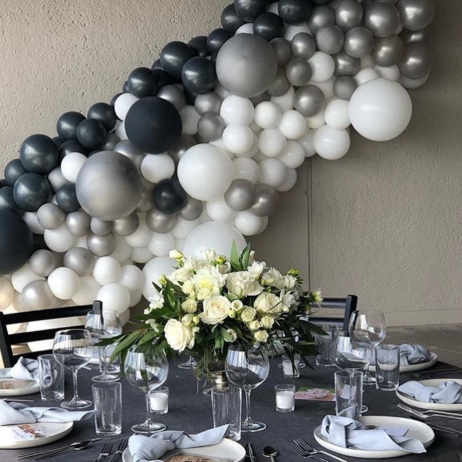 des moines wedding decor