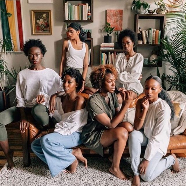 """A sister can be seen as someone who is both ourselves and very much not ourselves - a special kind of double."" ~Toni Morrison  Photo repost from @drkristianh @blkandgrn. (📸: @erikalaynephoto )"