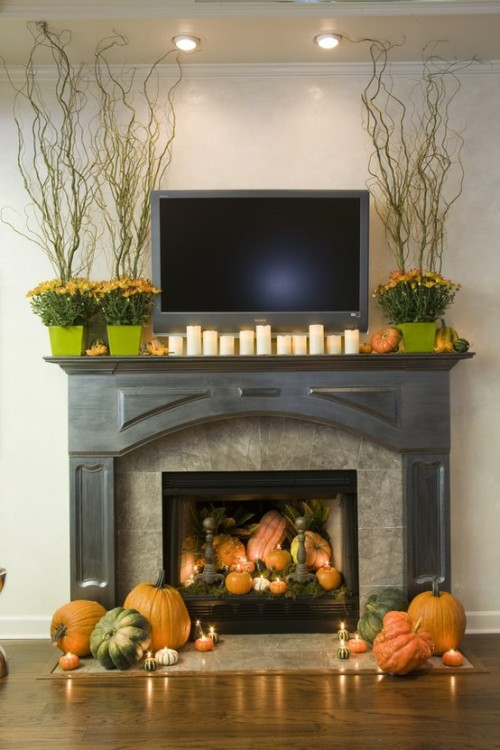 excellent-fireplace-mantel-with-tv-stand-in-helloween-theme.jpg