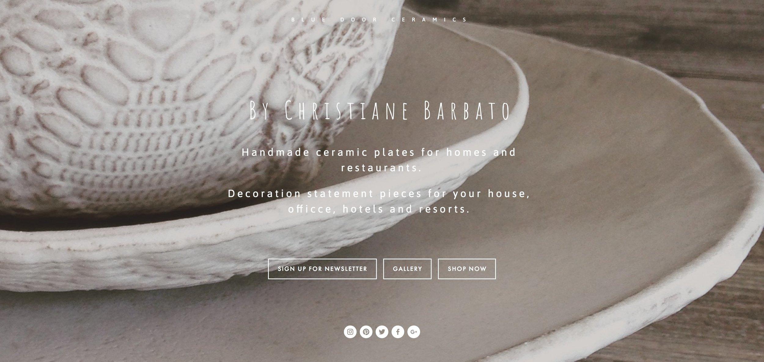 The original home page