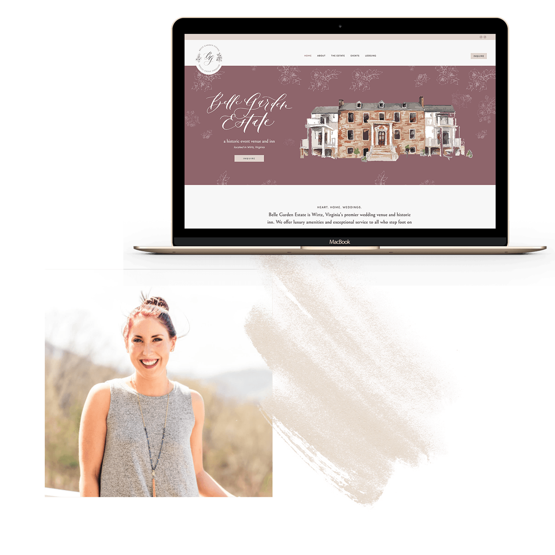 testimonial for Belle Garden Estate wedding venue website