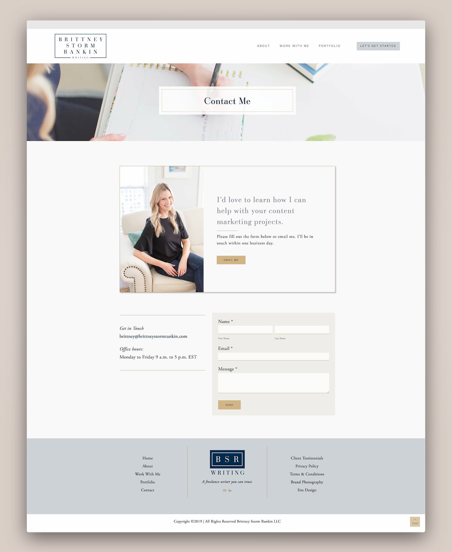 outlet for sale the best new release Portfolio - Brittney Rankin — Squarespace Web Design ...