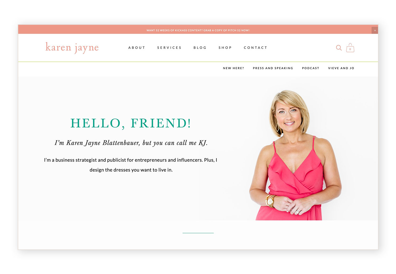 How to set up your header layout on the brine template - example by Jodi Neufeld Design