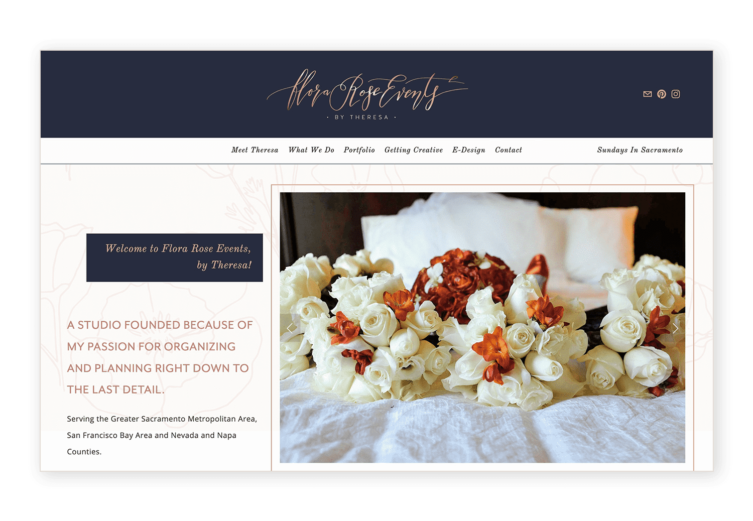 How to set up your header on the Brine template in Squarespace by Jodi Neufeld Design