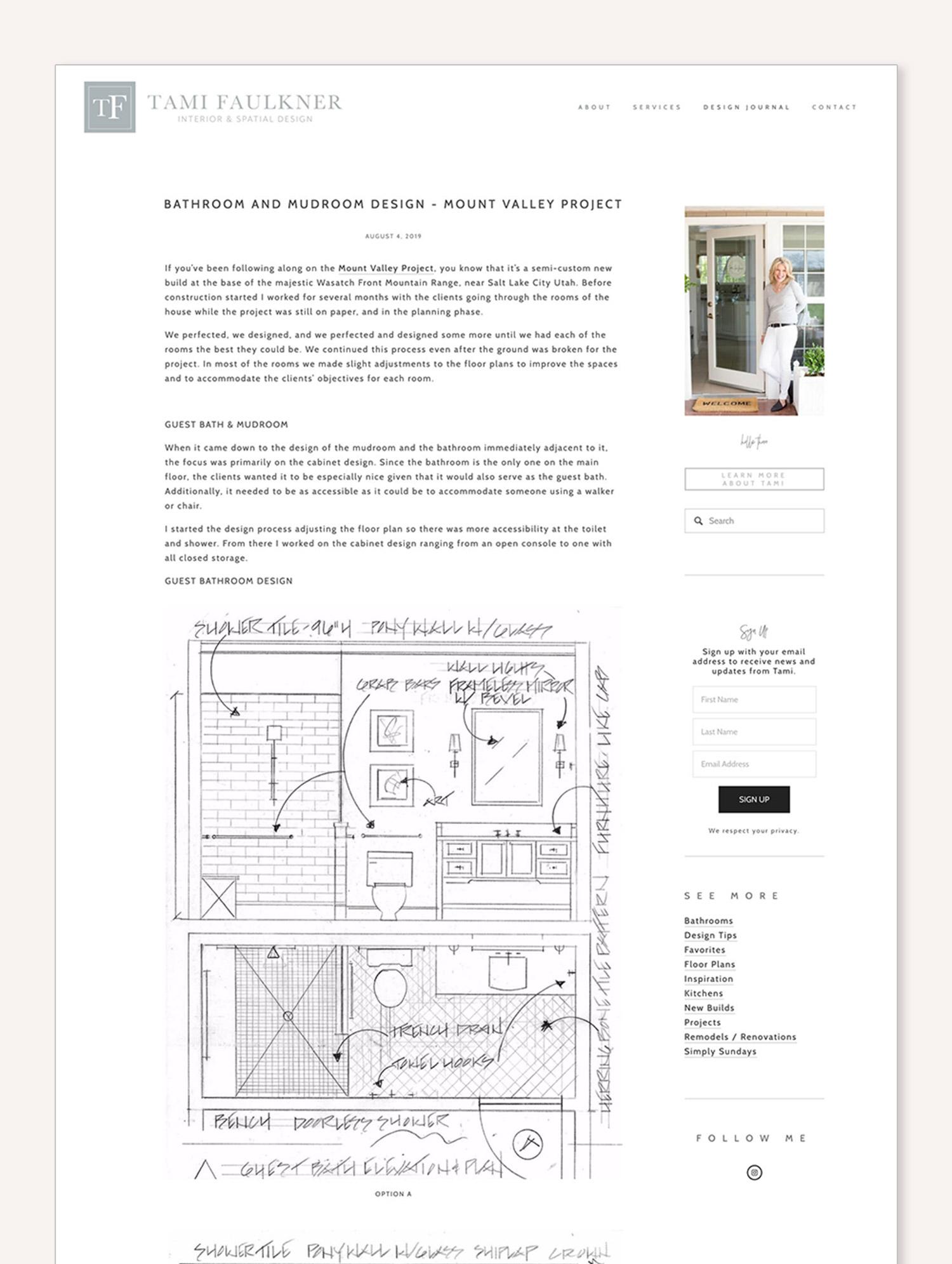 sqspthemes sidebar plugin | web design by Jodi Neufeld Design