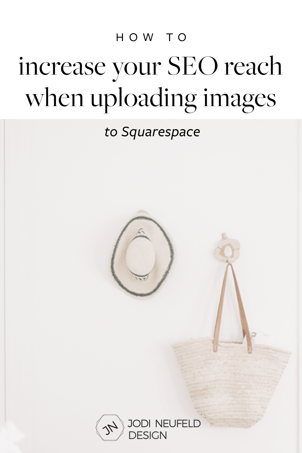 How to increase your SEO reach when uploading images to Squarespace by Jodi Neufeld Design #squarespace #webdesign