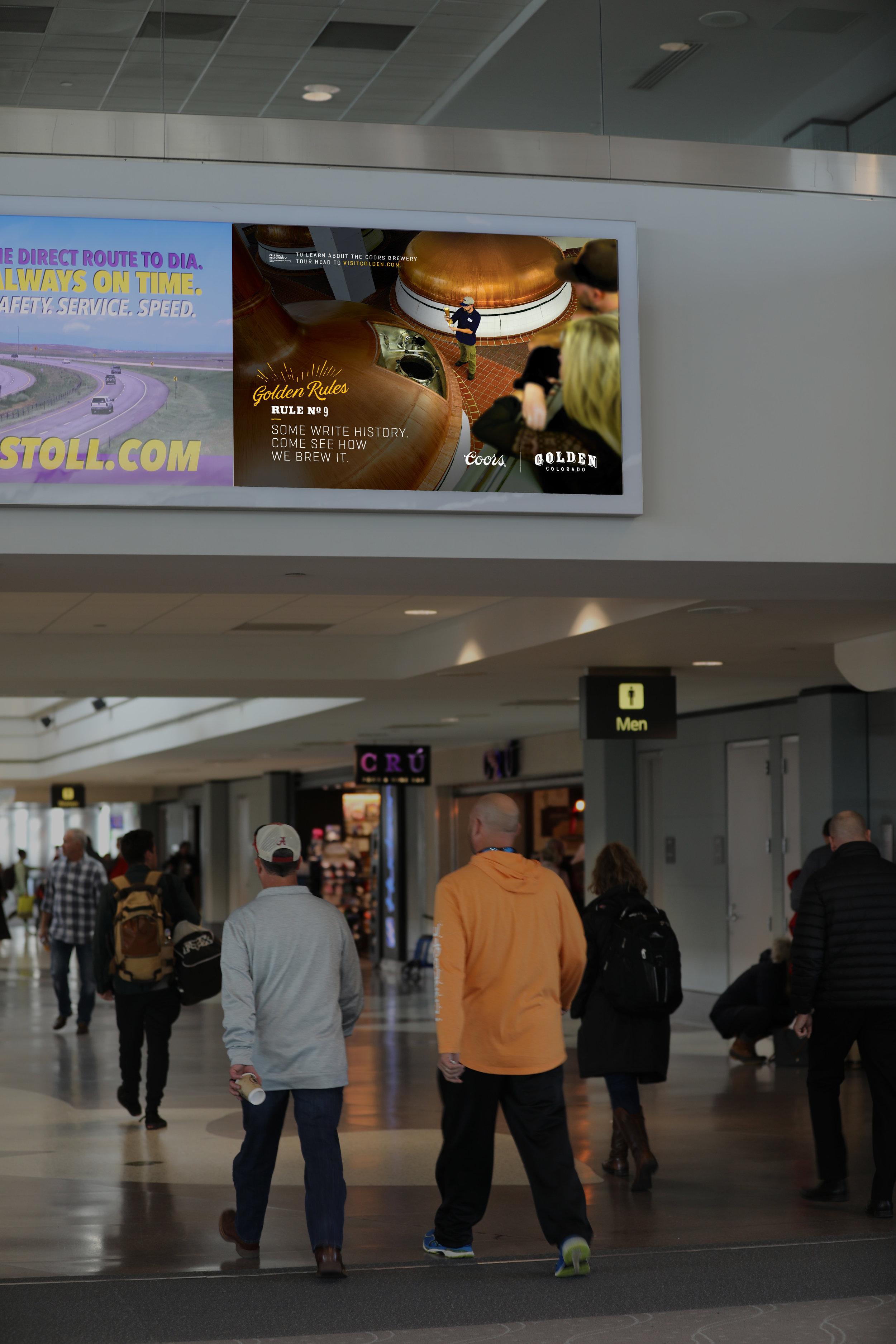 Denver Airport Diorama