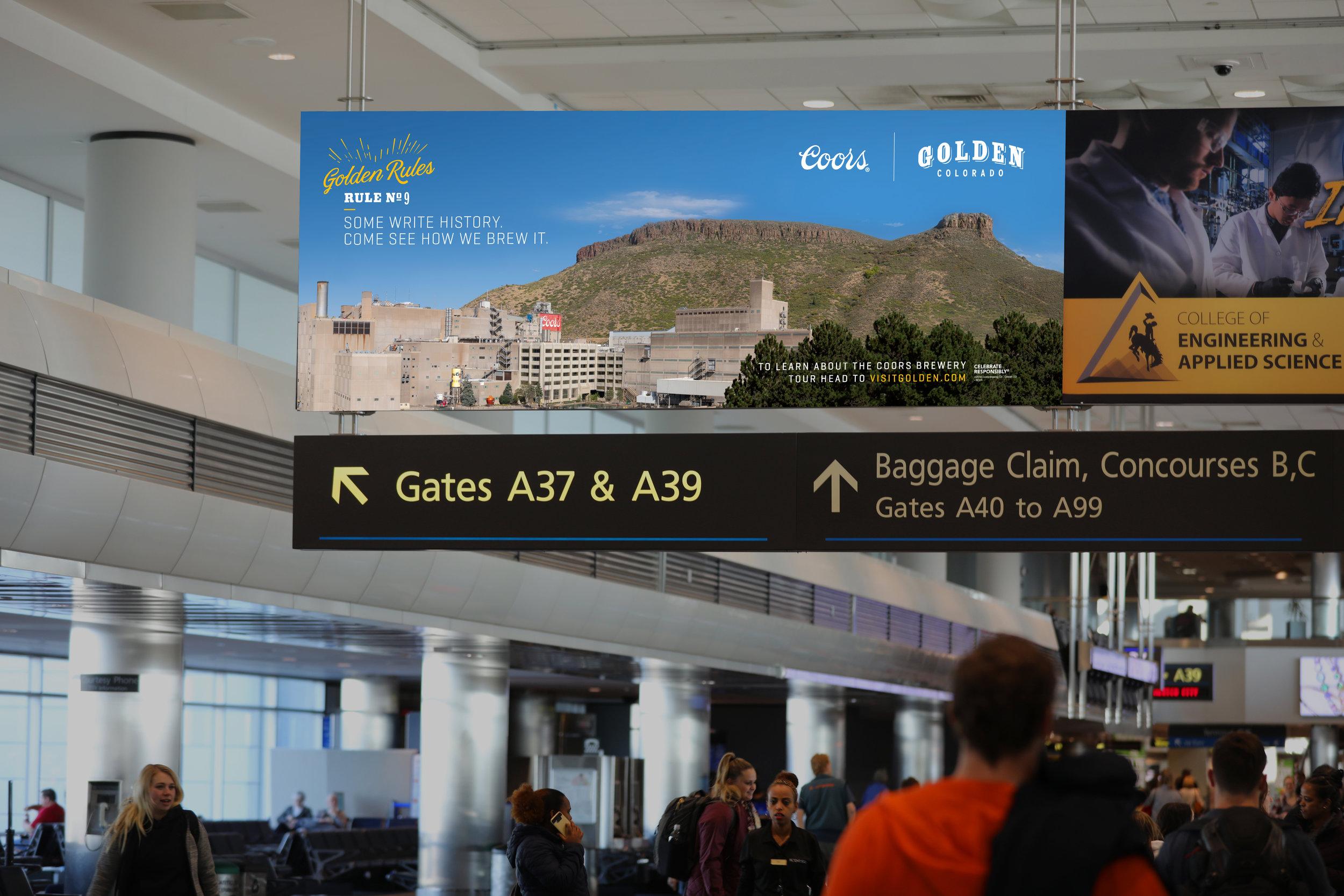 Denver Airport Half Tension Banner