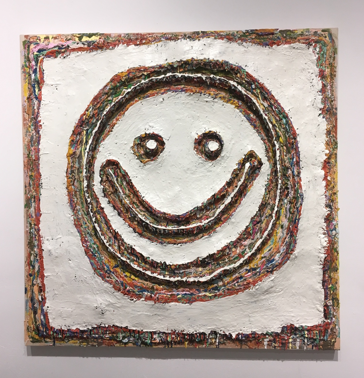 100 Layers #3 - Smiley Face