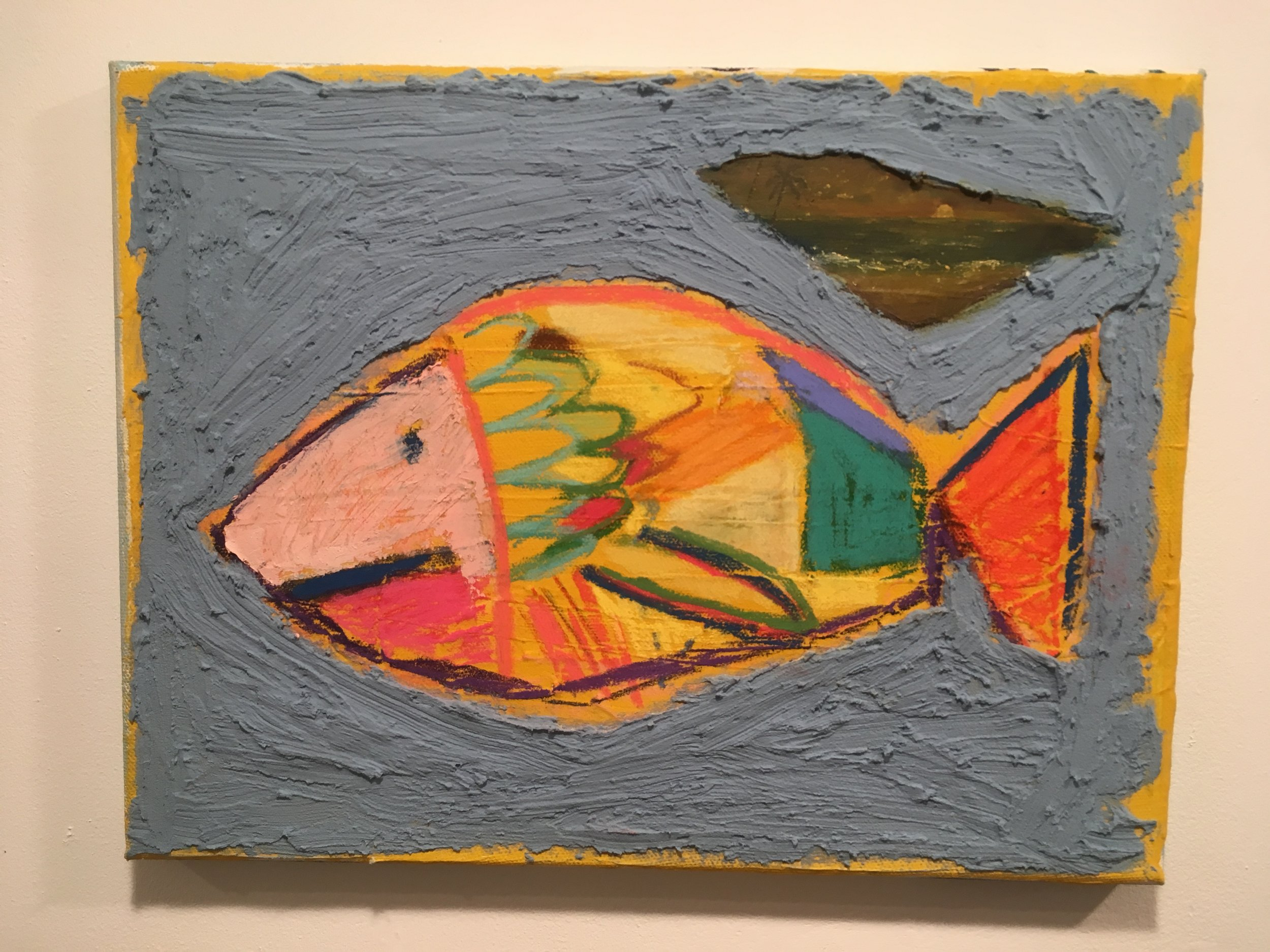 Fish with Seascape