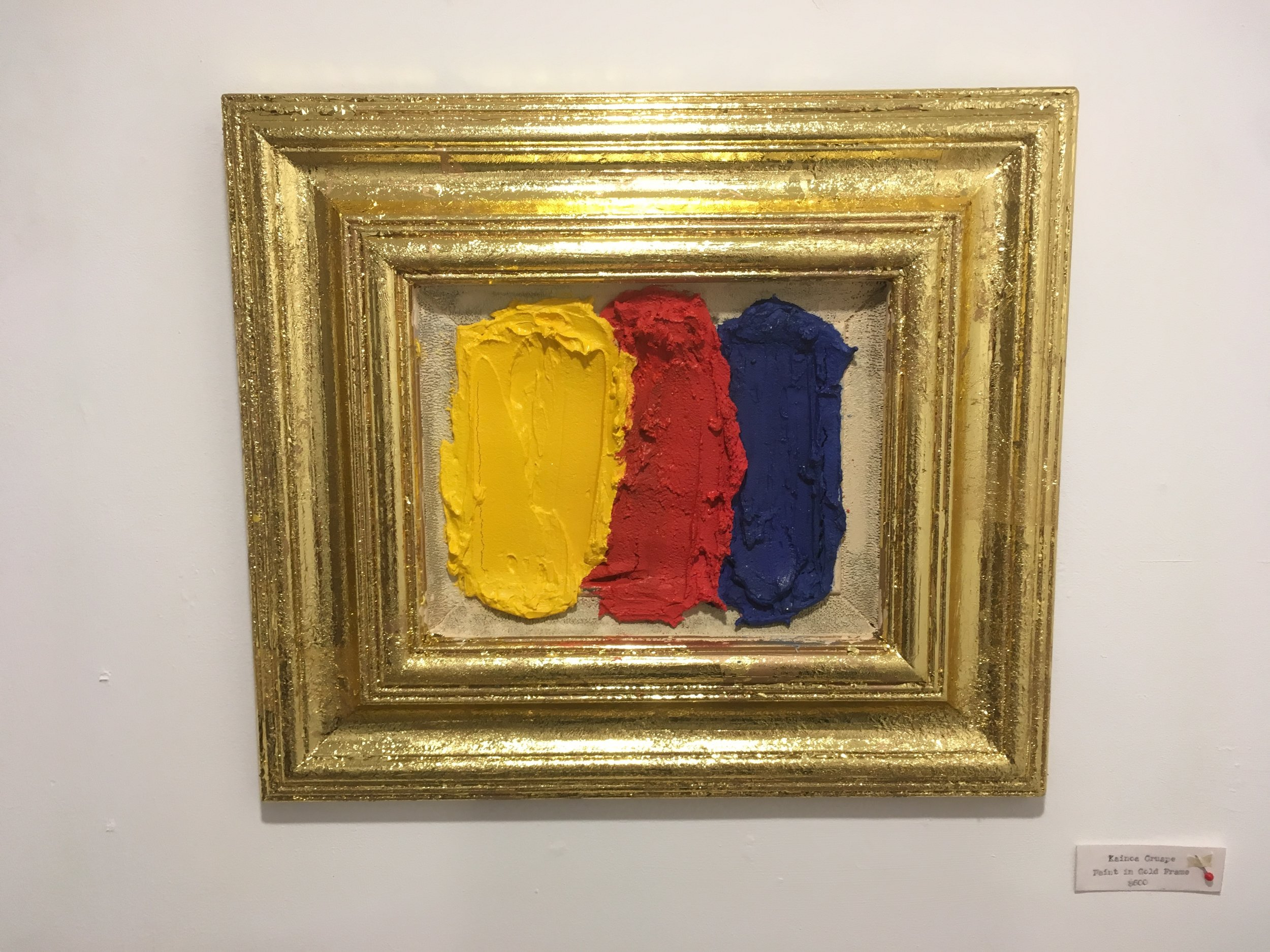 Paint in Gold Frame