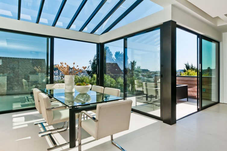 Noe Valley San Francisco - Complete renovation into contemporary modern luxury home. Features architectural elements throughout, complimented by carefully selected sleek modern finishes.