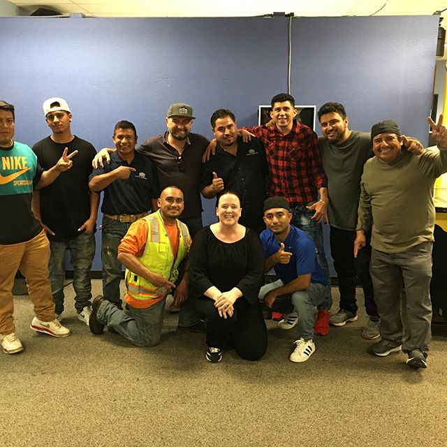 Friday was Employee Appreciation Day at Custom Construction!  It felt great to drop the tools, have some fun and thank the entire team for all their dedication and hard work.  #teambuilding #employeeappreciation  #teamworkmakesthedreamwork  #sanfrancisco #craftsmen  #gratefulforyou #stopandsmelltheroses #teamwork