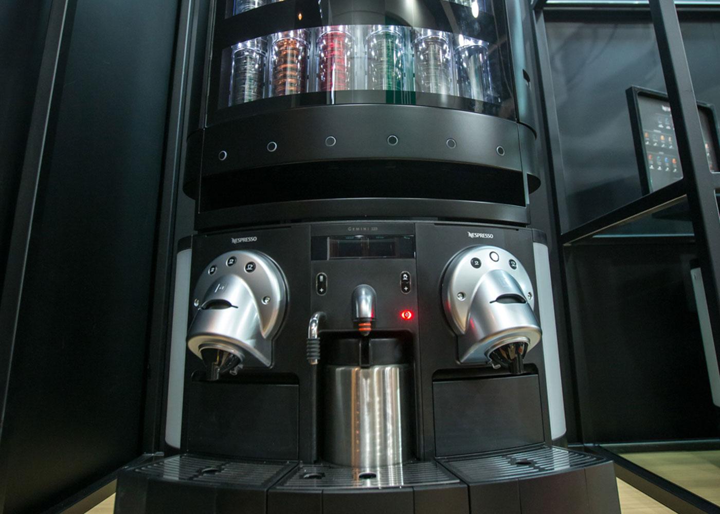 FreshUp, coffee machine, hot drinks, beverages, fast, convenient, smart, Nespresso