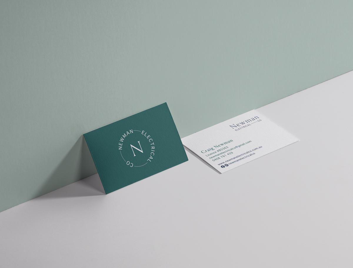 Business Card Design Electrician