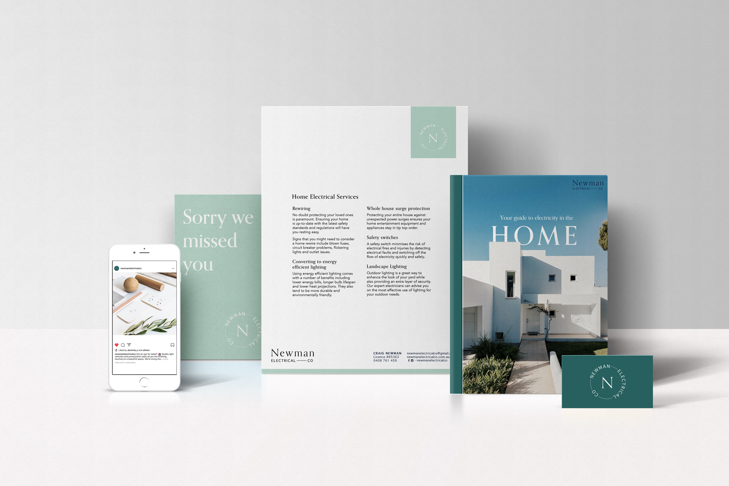 Branding | Newman Electrical Co  view here >