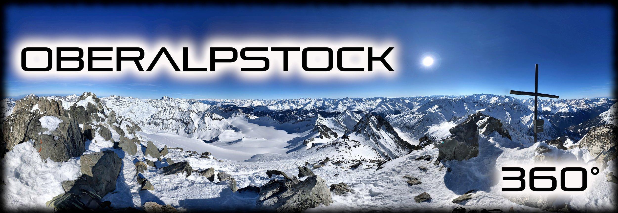 Oberalpstock - Piz Tgietschen - Februar 2019