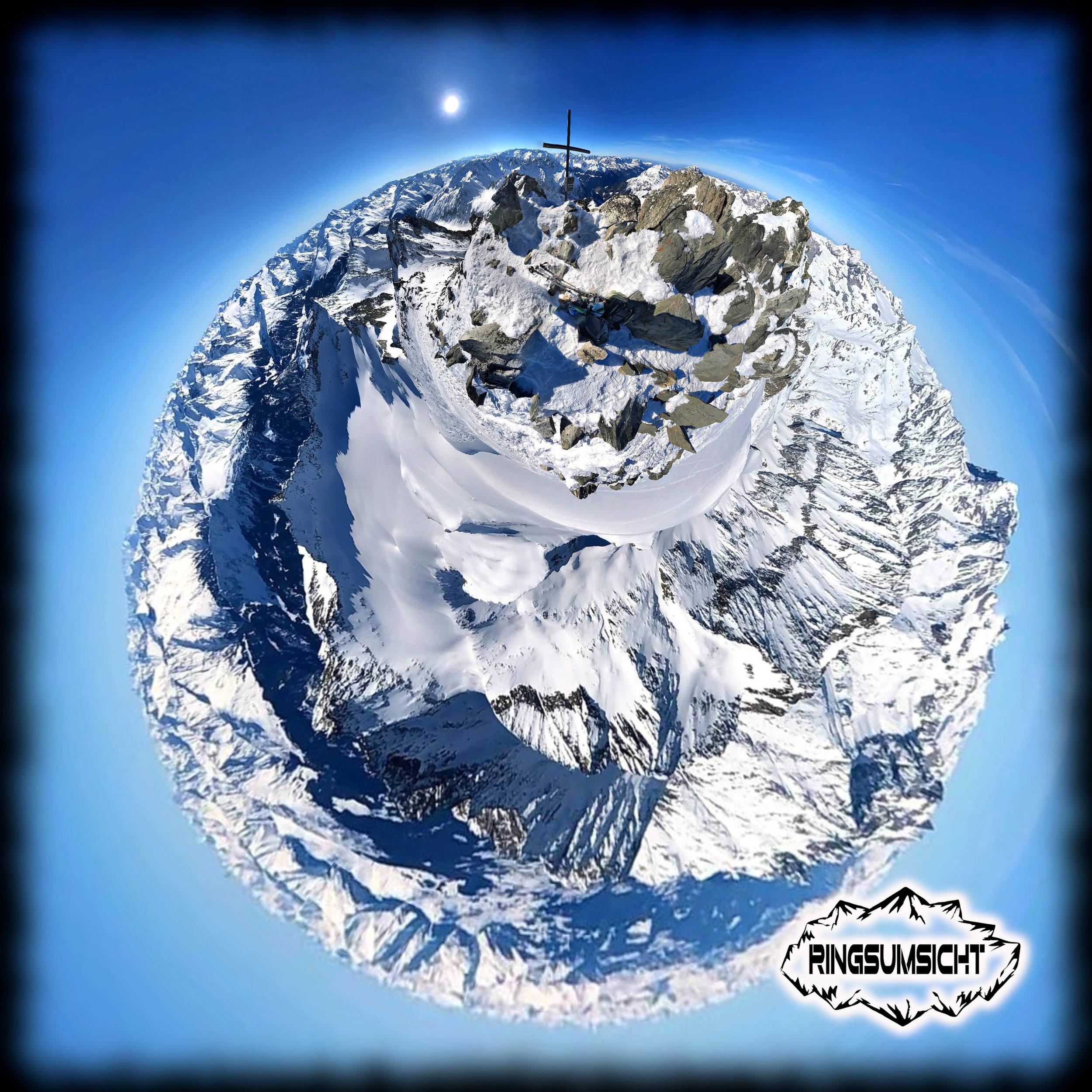 Oberalpstock tiny planet