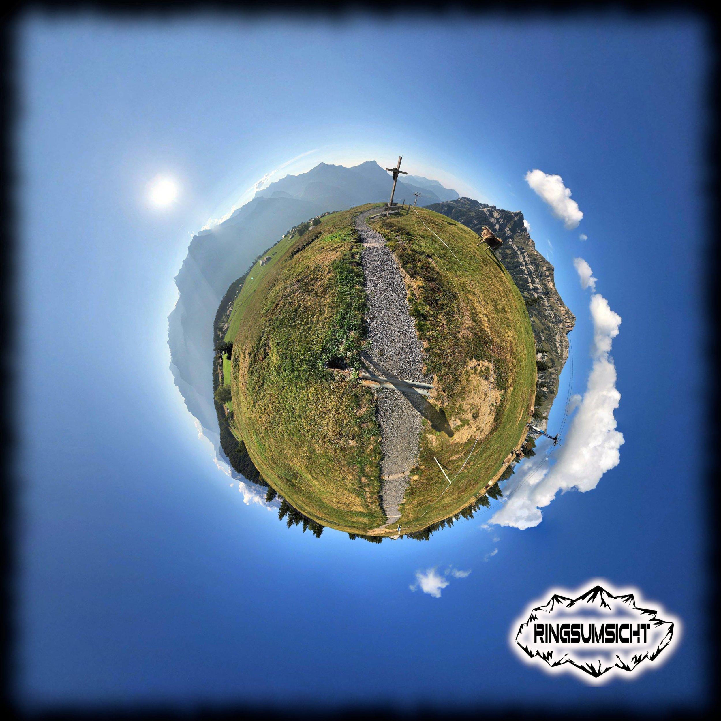 Eggberge tiny planet 360° bild