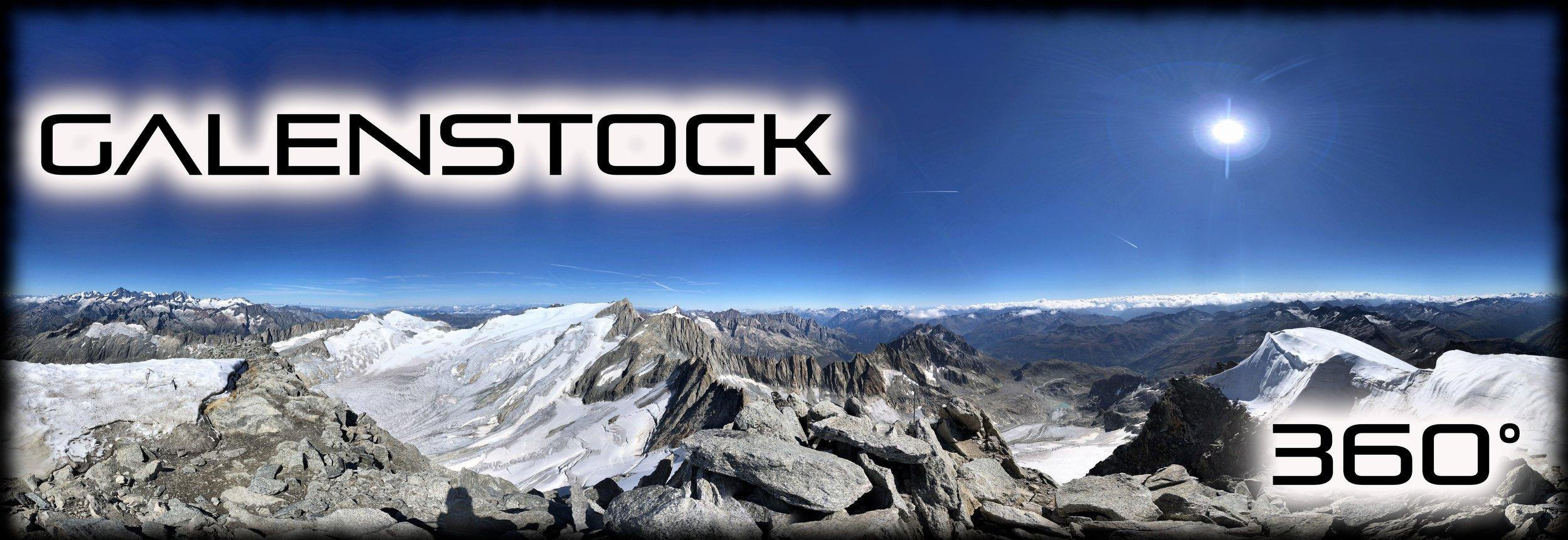 Galenstock 360° Bergtour