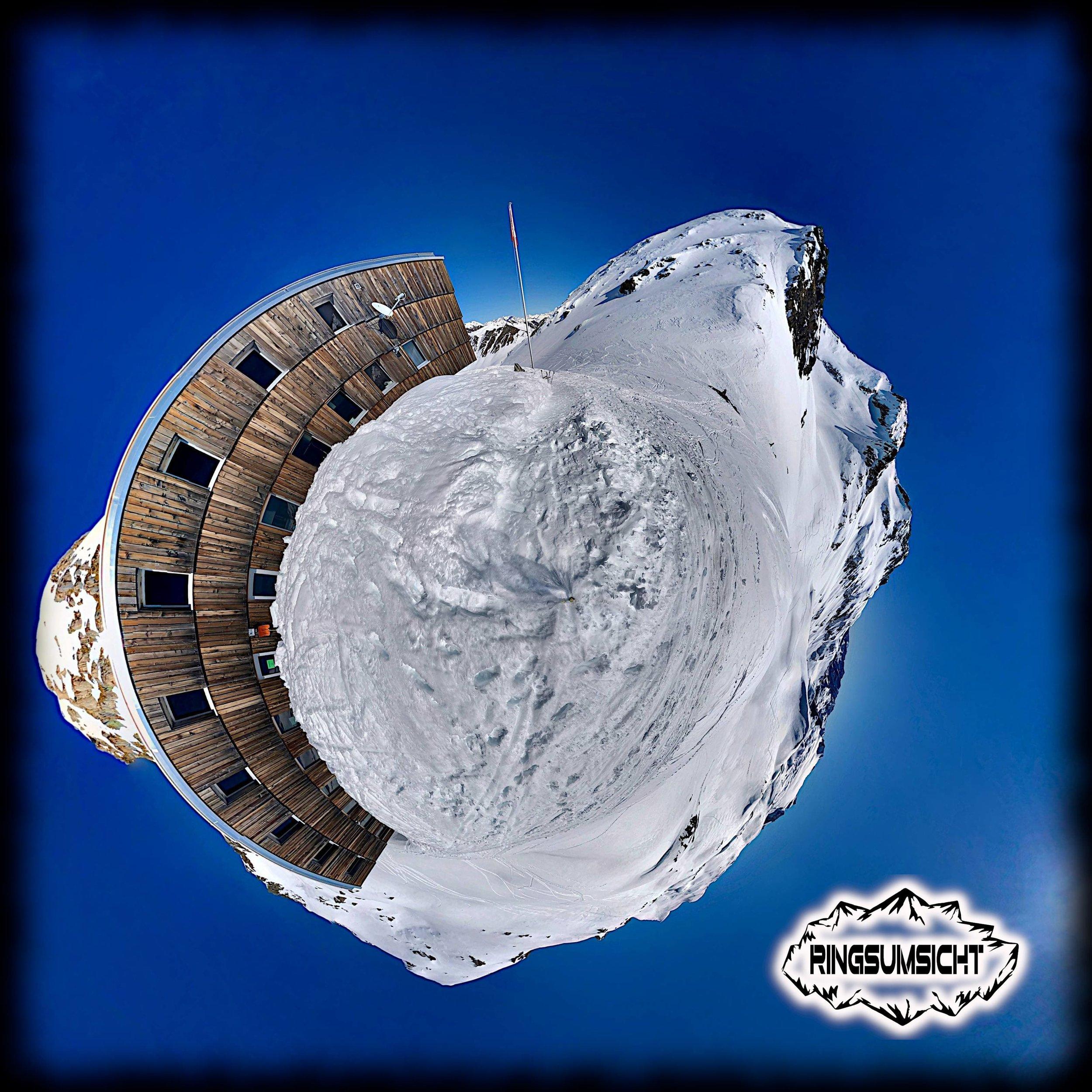 Capanna Cristallina 360°