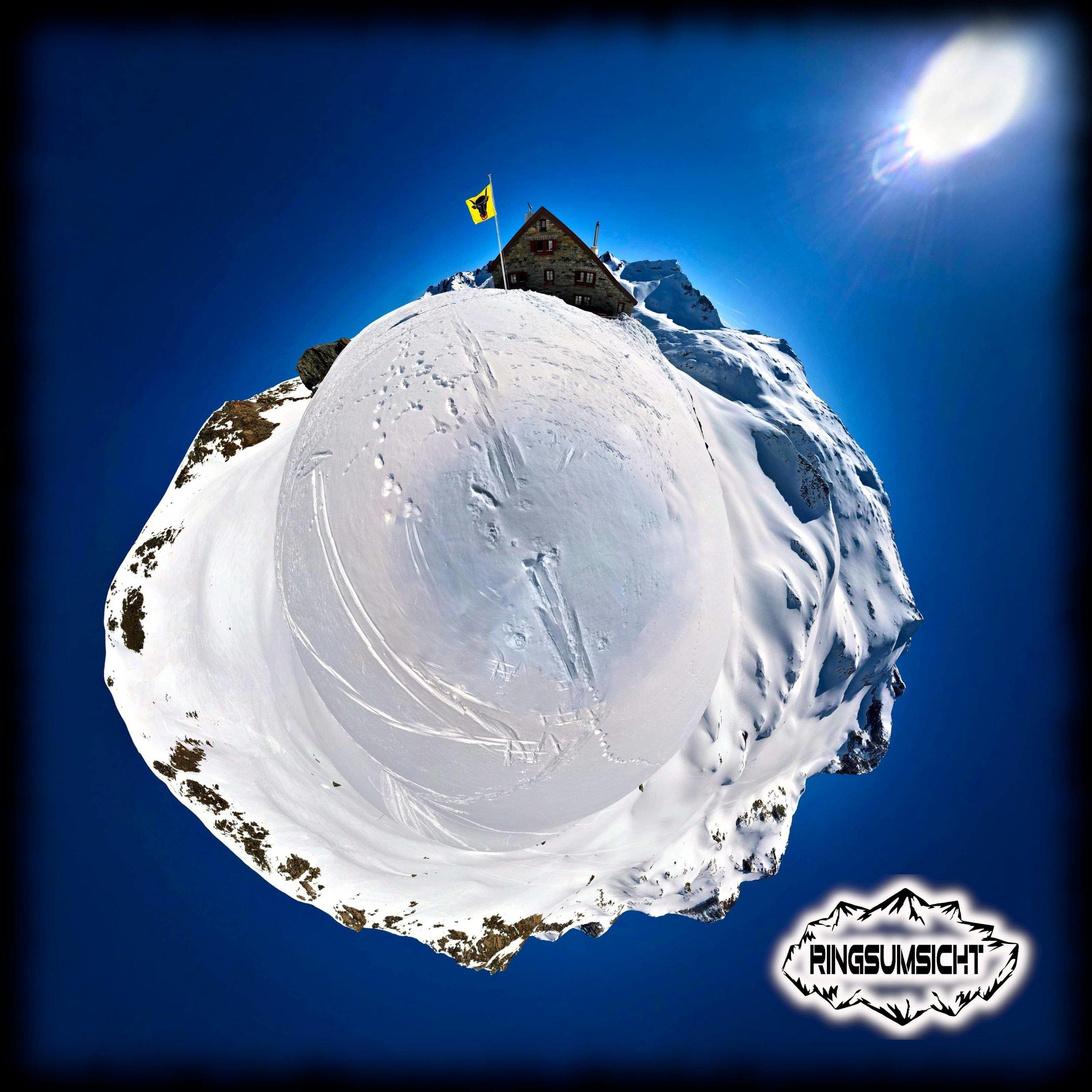 Rotondohütte 360° Ansicht