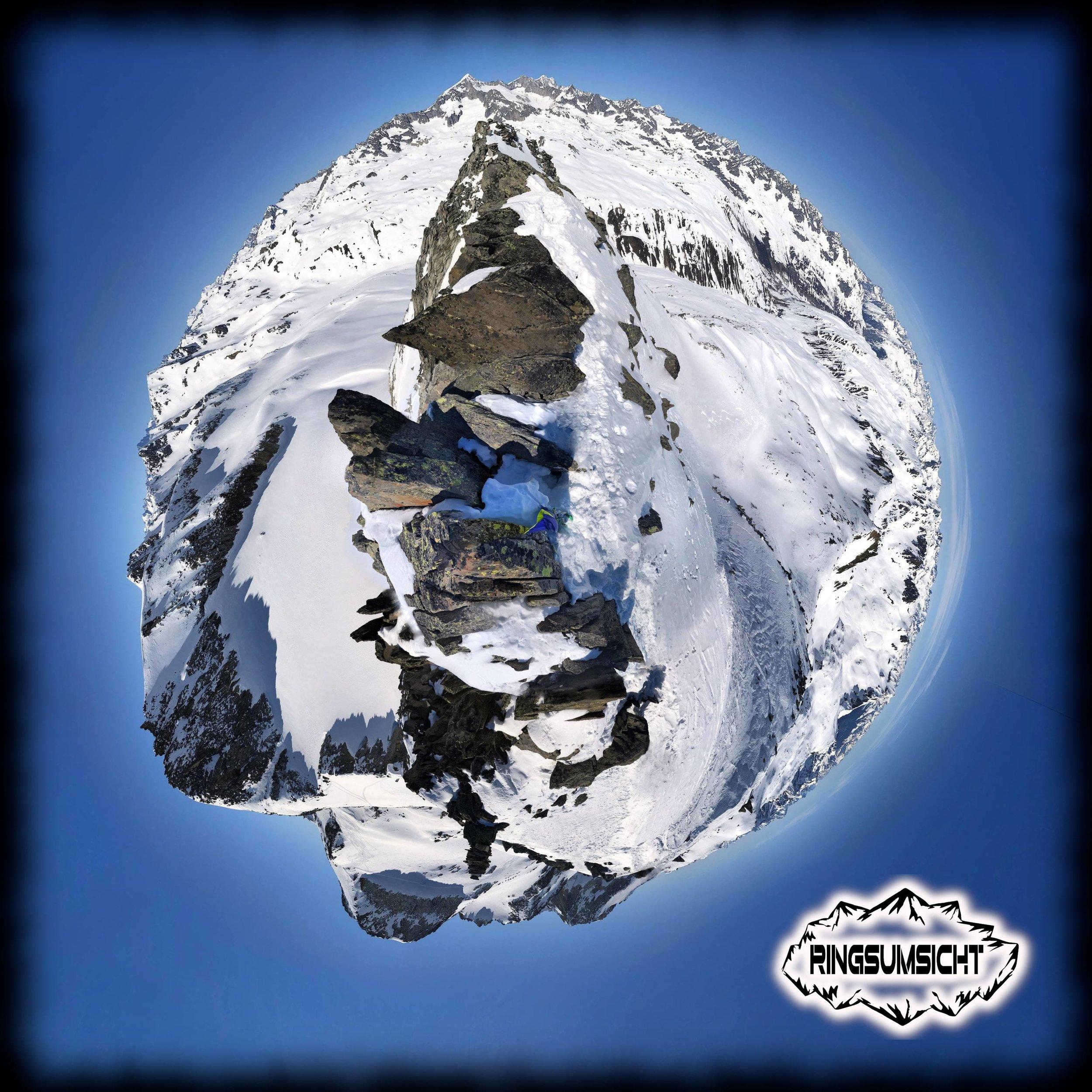 Rottällihorn 360° Gipfelpanorama
