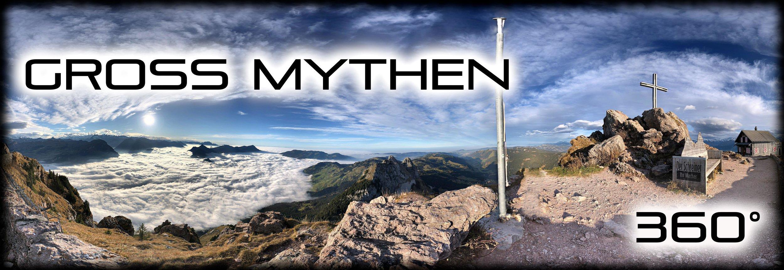 Grosser Mythen  360° Aussicht