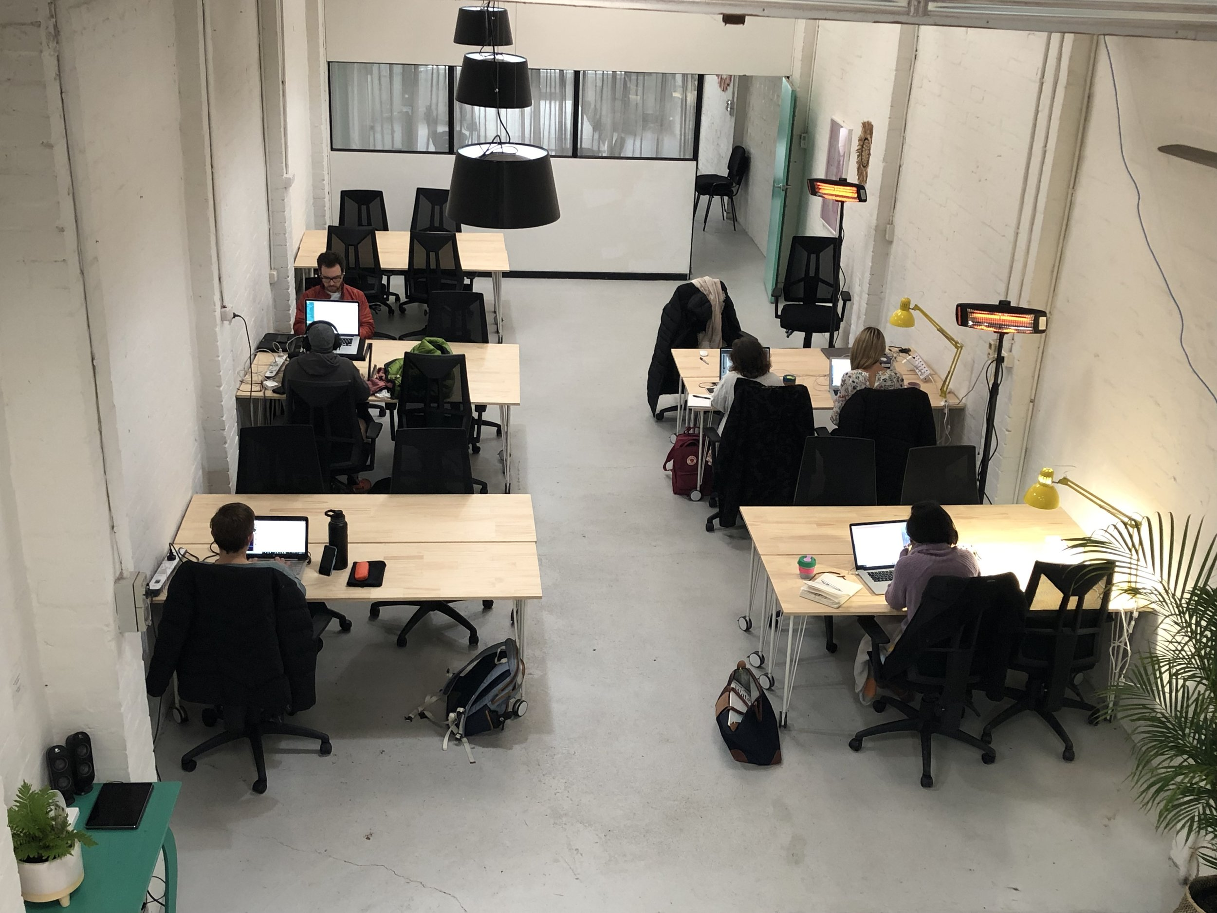 Create your empire - Or engage with one. The Space has different rooms for coworking, workshops and meetings, or you can even hire out the whole space for your event.