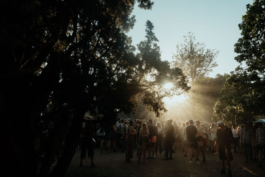 Is this a one day festival or paradise? (Photo by Jackson Grant)