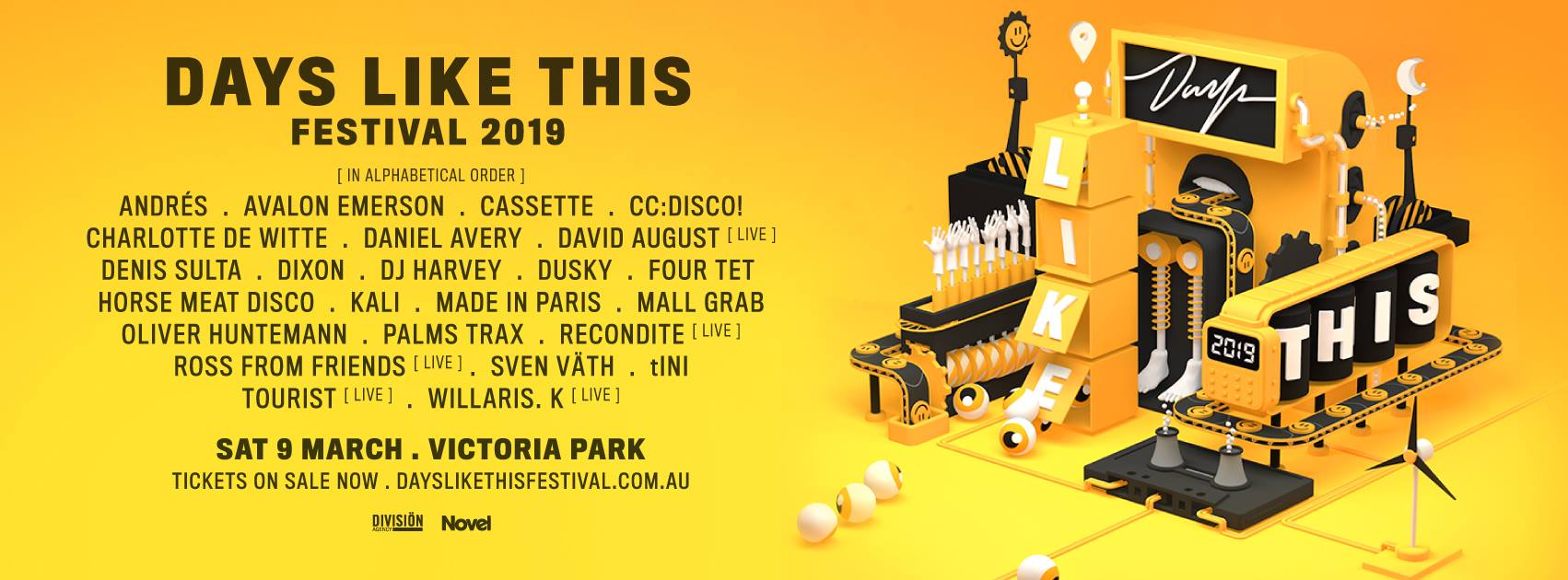Catch Avalon Emerson at Days Like This 2019 - Sat 9th March, Sydney.